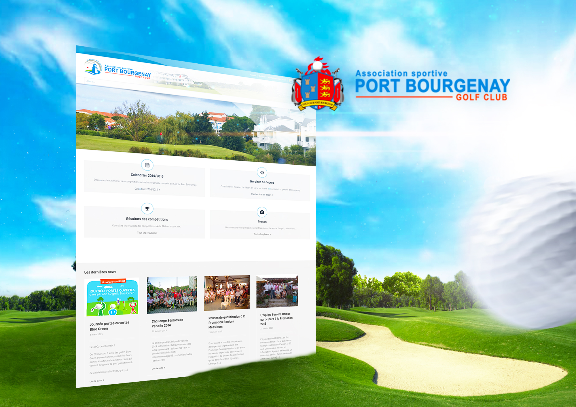 vendelis golf de port bourgenay