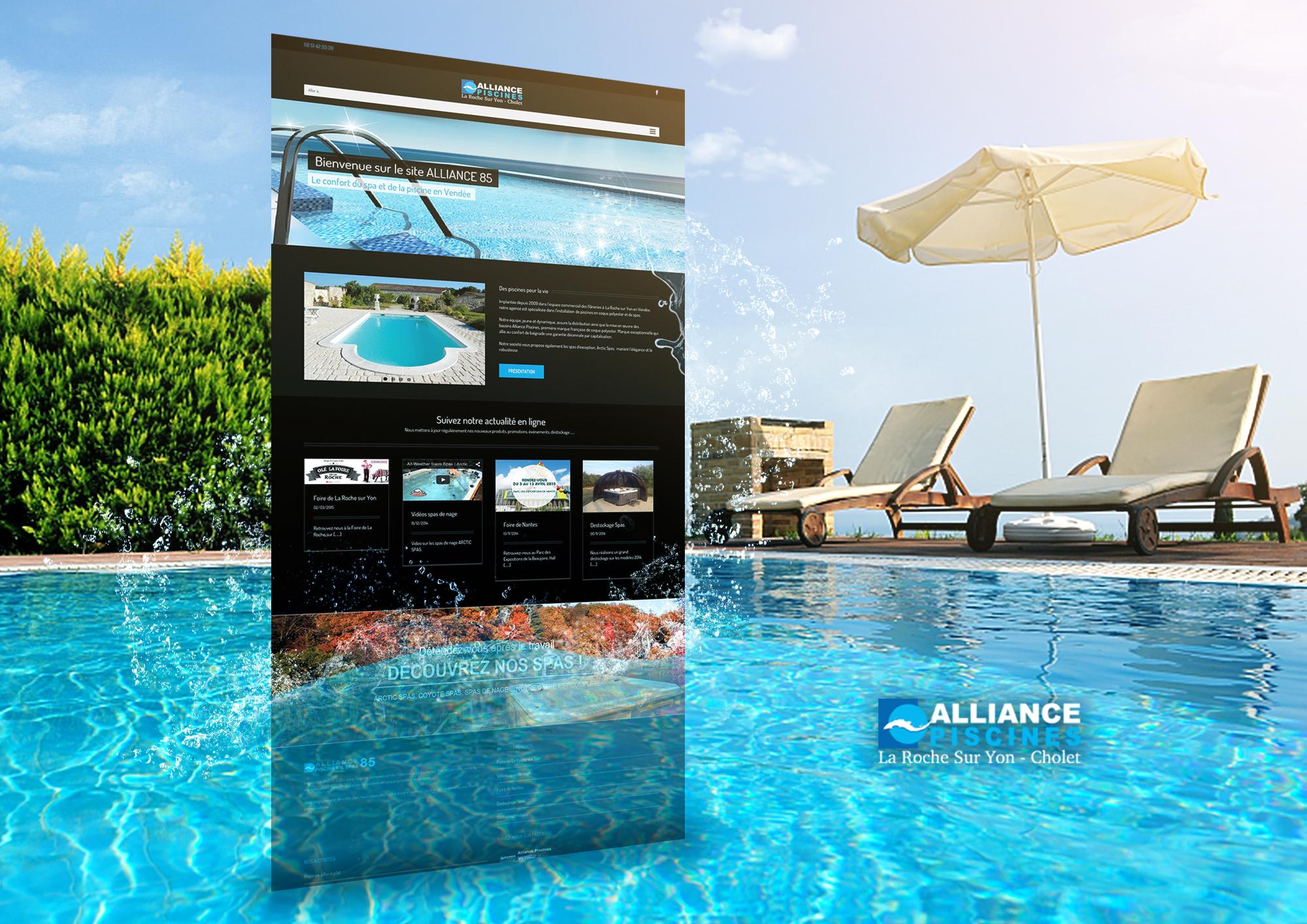 Alliance piscine piscinier bourgogne alliance piscines for Alliance piscine